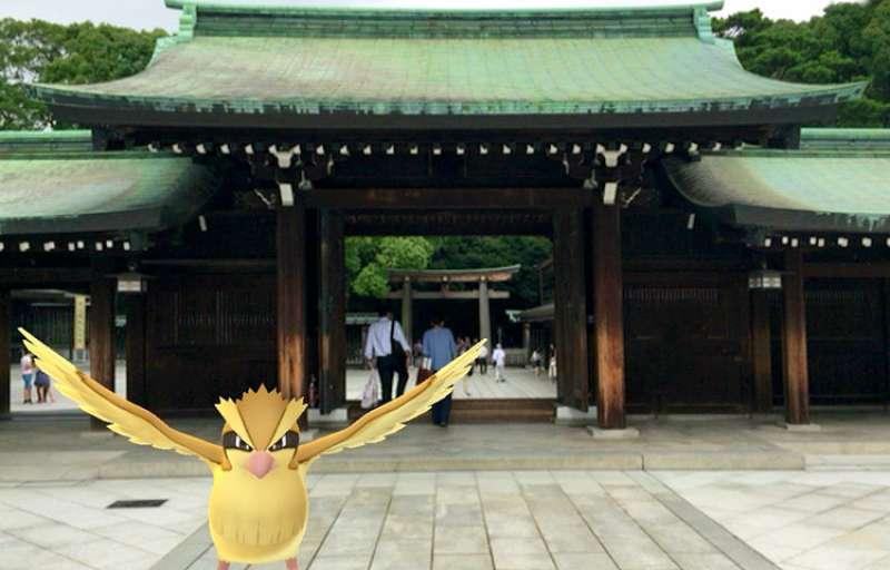 ศาลเจ้าเมจิ,Pokemon, โปเกมอน, Pokemon Go, เกม, ท่องเที่ยว, ทัวร์