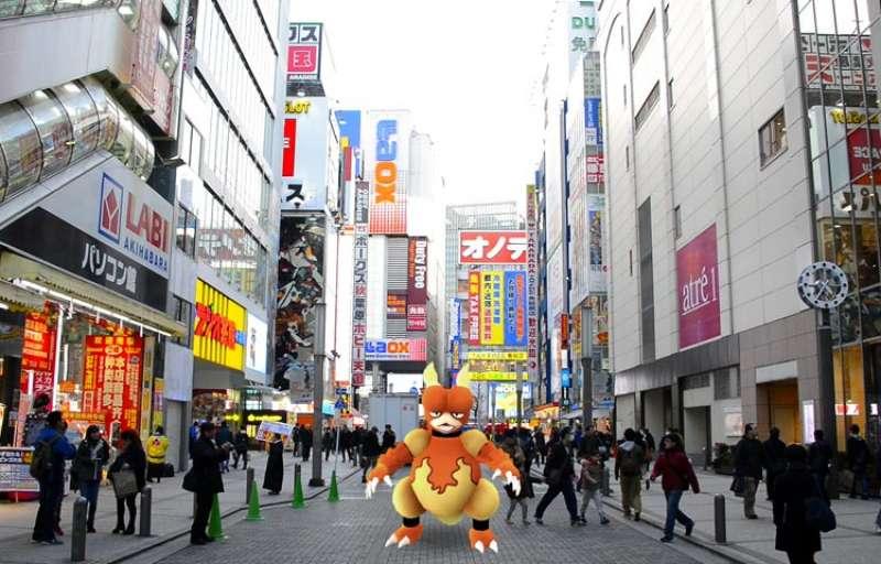 อากิฮาบาระ,Pokemon, โปเกมอน, Pokemon Go, เกม, ท่องเที่ยว, ทัวร์