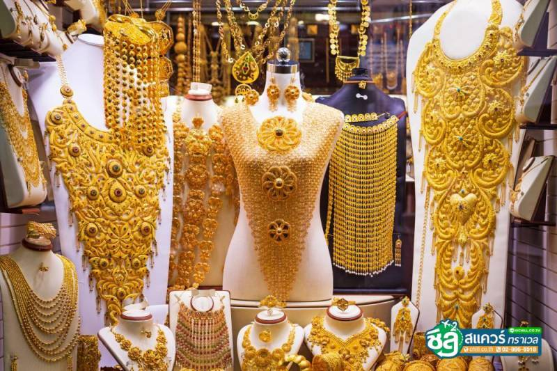 ตลาดทองคำ (Dubai Gold Market or Gold Souk)