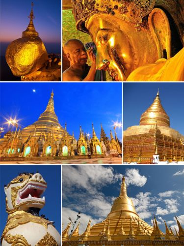 5 อันดับสถานที่ท่องเที่ยวยอดฮิตของประเทศพม่า