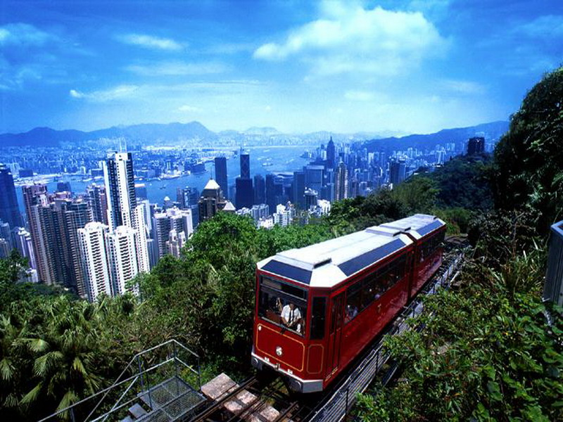 Victoria Peak จุดชมวิวที่สวยที่สุดในฮ่องกง