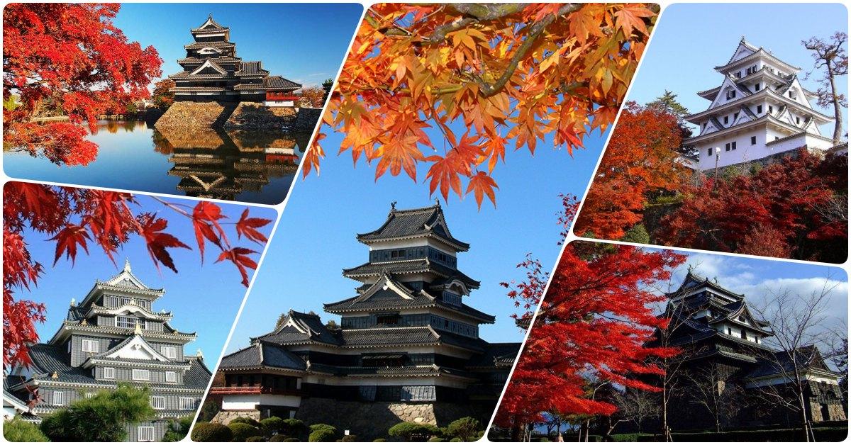 ชม 5 ปราสาท สุดอลังช่วงใบไม้ในฤดูใบไม้เปลี่ยนสี