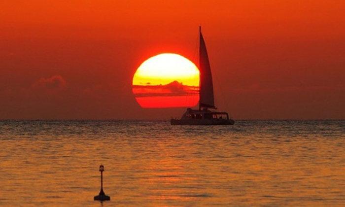 จุดชมวิวพระอาทิตย์ตกสุดโรแมนติกแห่งโอกินาวา