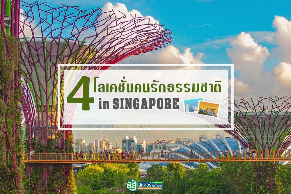 เที่ยวสิงคโปร์ 4 โลเคชั่นเที่ยวถูกใจคนรักธรรมชาติ