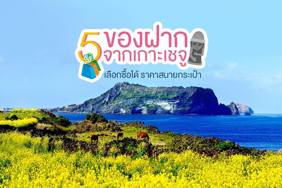 5 ของฝากเกาะเชจู เหมาะกับคนงบจำกัด แนะนำต้องซื้อ!!