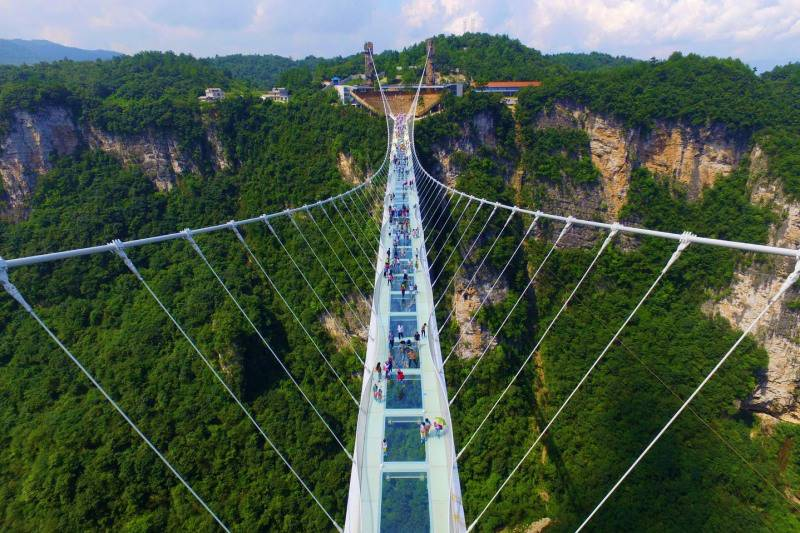 Image result for สะพานแก้ว จางเจียเจี้ย