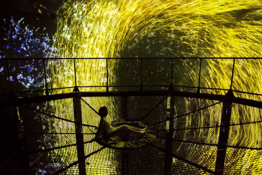 The Way of the Sea, Transcending Space - Gold Light, the Nest