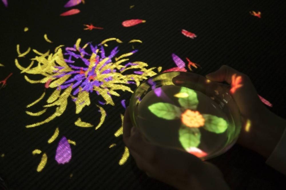Flowers Bloom in an Infinite Universe inside a Teacup