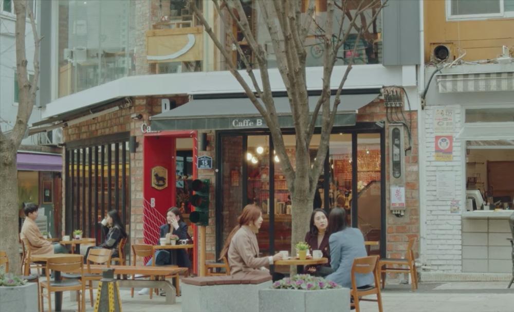 Caffe B4 in Busan