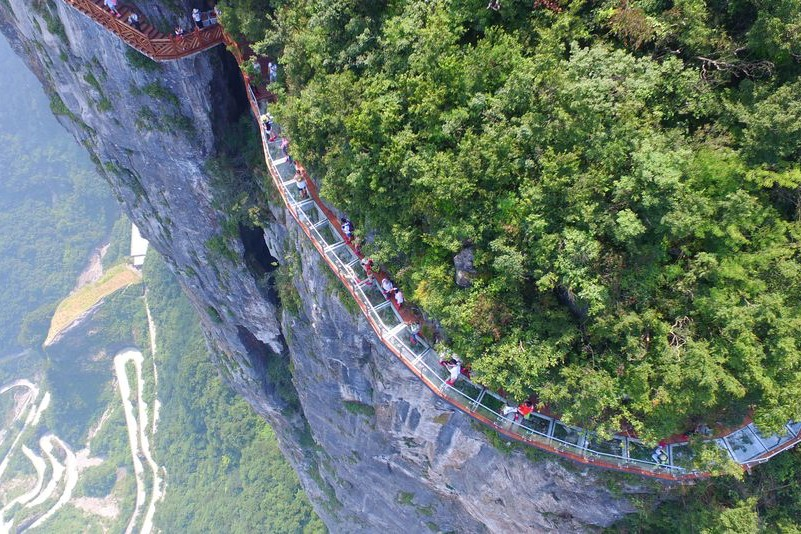 Tianmen Mountain Glass Skywalk