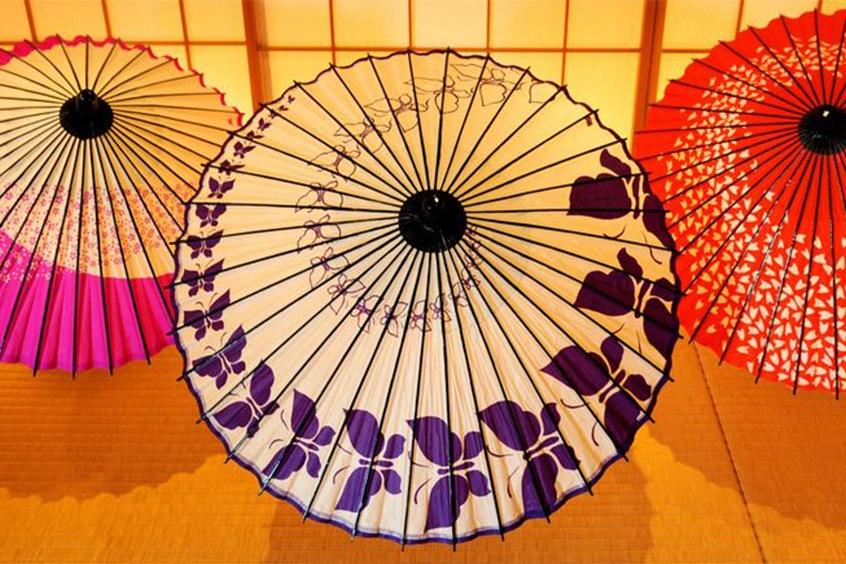 ร่มญี่ปุ่นแบบกิฟุ