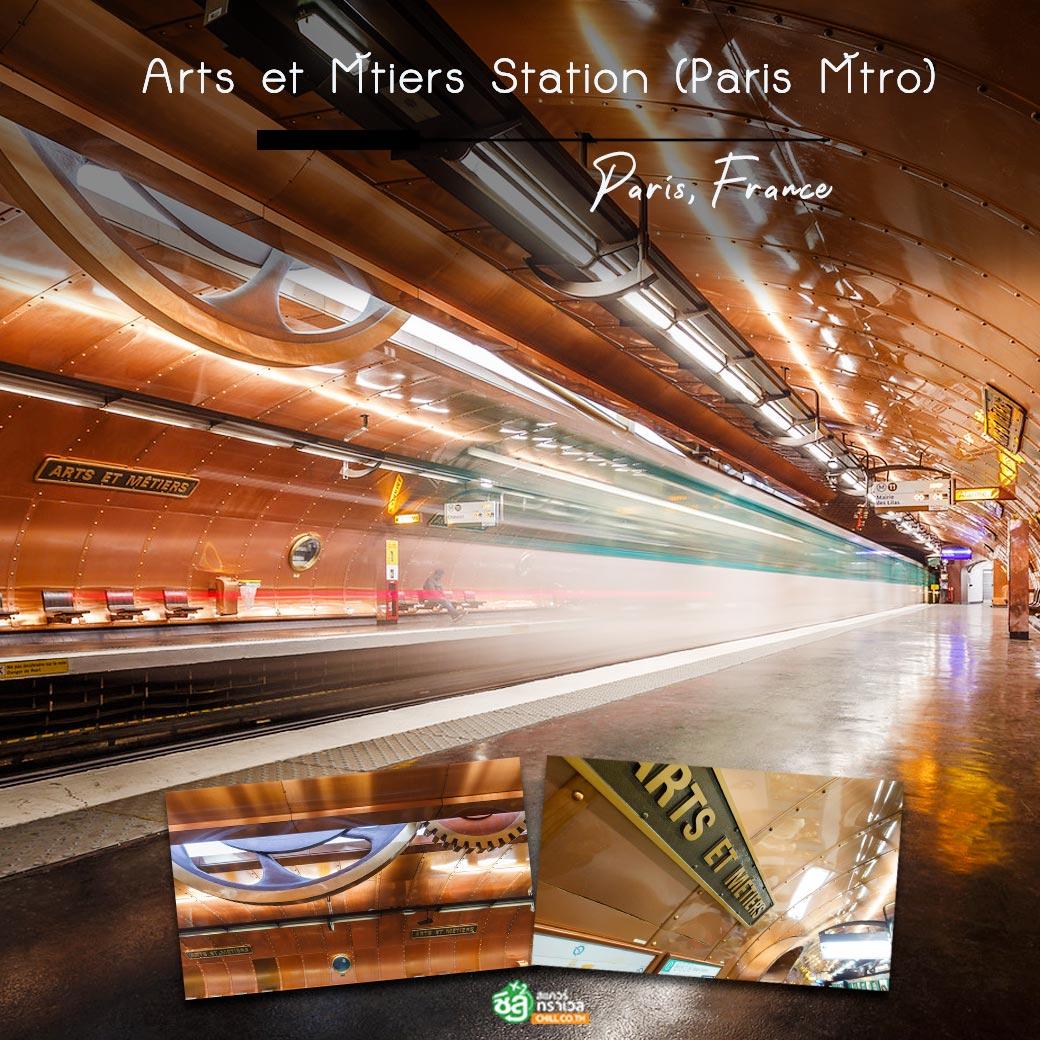 Arts et Métiers Station (Paris Métro)