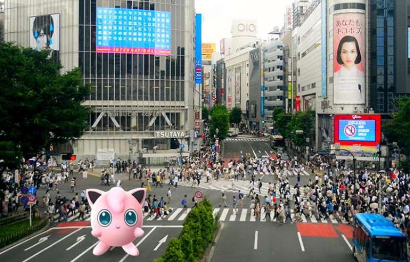 ชิบูย่า, Pokemon, โปเกมอน, Pokemon Go, เกม, ท่องเที่ยว, ทัวร์