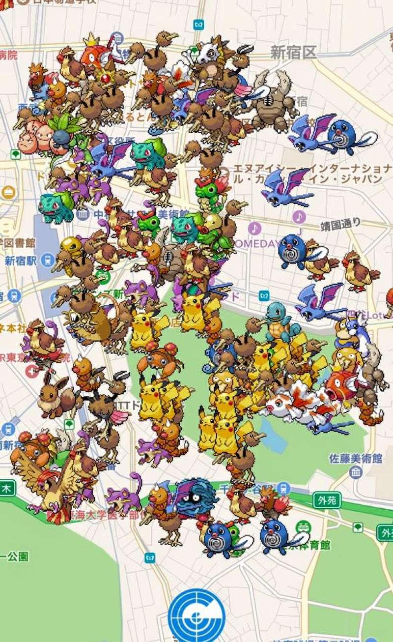 ชินจูกุ,Pokemon, โปเกมอน, Pokemon Go, เกม, ท่องเที่ยว, ทัวร์
